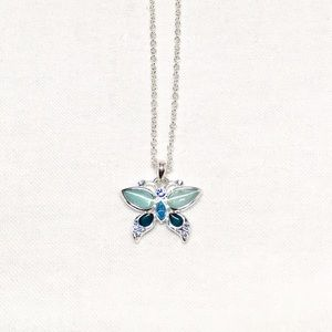Jewelry - Vintage Silver Butterfly Necklace